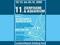 ZIERFISCHE UND AQUARIUM 2008