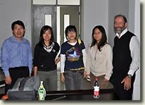 Seminars at Shanghai Ocean University