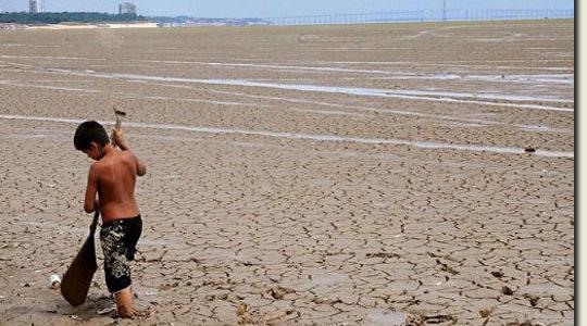 Le plus grand fleuve Amazone en cas de catastrophe