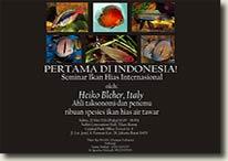 Ornamental Freshwater Fish Seminar in Jakarta
