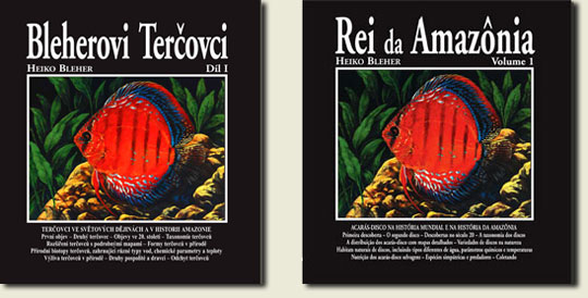BLEHER'S DISCUS VOL 1 IN CZECH AND PORTUGUESE
