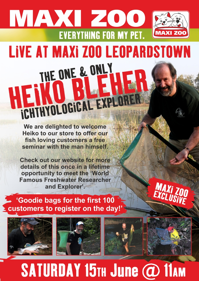Heiko Bleher at Maxi Zoo poster