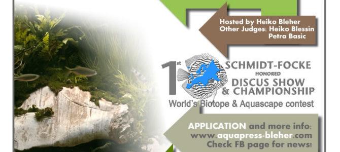 WORLD BIOTOPE / AQUASCAPE AQUARIUM CONTEST 2016
