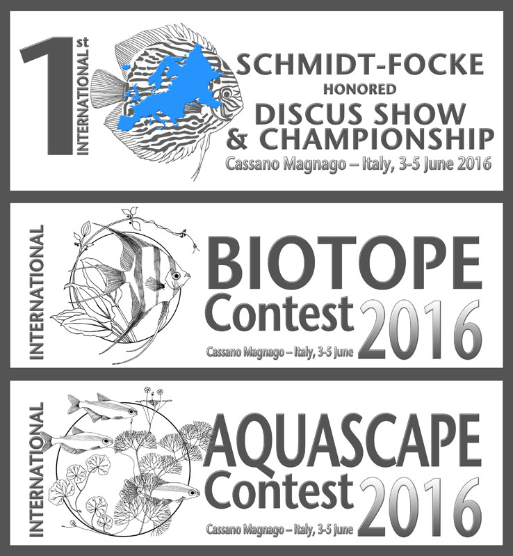 DISCUS SHOW & CHAMPIONSHIP – BIOTOPE & AQUASCAPE CONTEST 2016