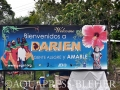 04_Welcome sign to the Darién, with the text Happy people_it was different today_Panama