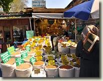Flower Bazaar in Istanbul