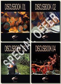 SET COMPLETO DISCUSBOOK 01-02-03-04