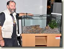 Bleher's Biotope Aquariums at the 12. Zierfische & Aquarium